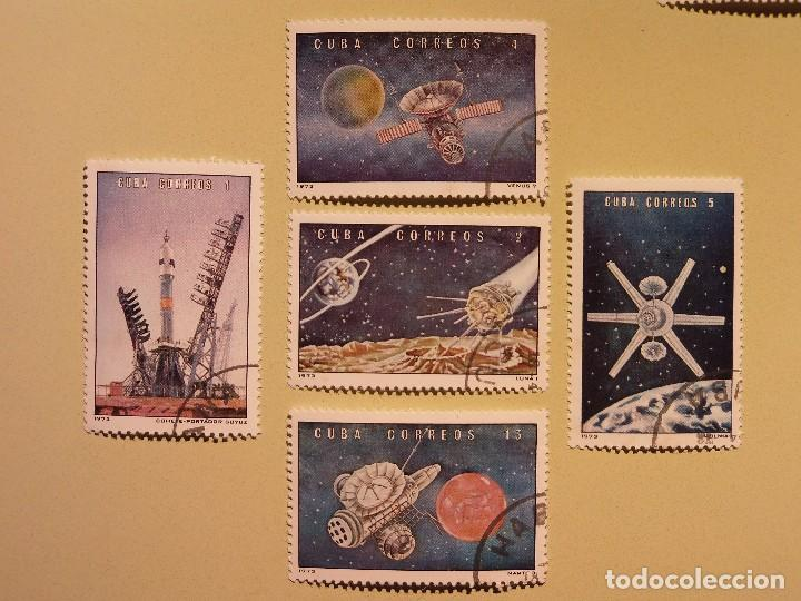 CUBA - CONQUISTA DEL ESPACIO - SOYUZ, LUNA, VENUS, MARTE. (Sellos - Temáticas - Conquista del Espacio)