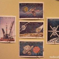 Sellos: CUBA - CONQUISTA DEL ESPACIO - SOYUZ, LUNA, VENUS, MARTE.. Lote 94744283