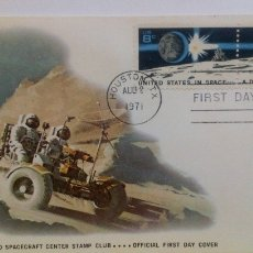 Sellos: SOBRE 1 ER DIA EMISIÓN USA UNA DÉCADA DE LOGROS EN EL ESPACIO 1971 NASA ASTROFILATELIA. Lote 103952263