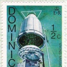 Sellos: 1976 - DOMINICA - MISION VIKINGO A MARTE - YVERT 487. Lote 105959283