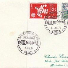 Sellos: AÑO 1975, NASA, ESTACIÓN ESPACIAL DE MADRID. Lote 105990663