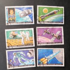Sellos: SERIE COMPLETA 1970 MANAMA PROGRAMA SOYUZ Y APOLO. Lote 110650323