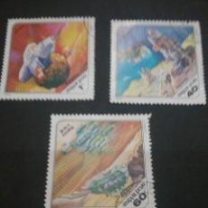 Sellos: SELLOS DE HUNGRÍA (MAGYAR POSTA) MATASELLADO. 1978. CIENCIA FICCION. ESPACIO. COSMOS. NAVES. ASTROS. Lote 121464834