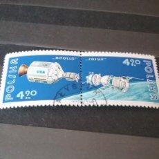 Sellos: SELLOS DE POLONIA (POLSKA) MATASELLADOS. 1975. APOLLO. SOYUZ. COSMOS. EXPLORACION. ESPACIO. NAVES.. Lote 125144062