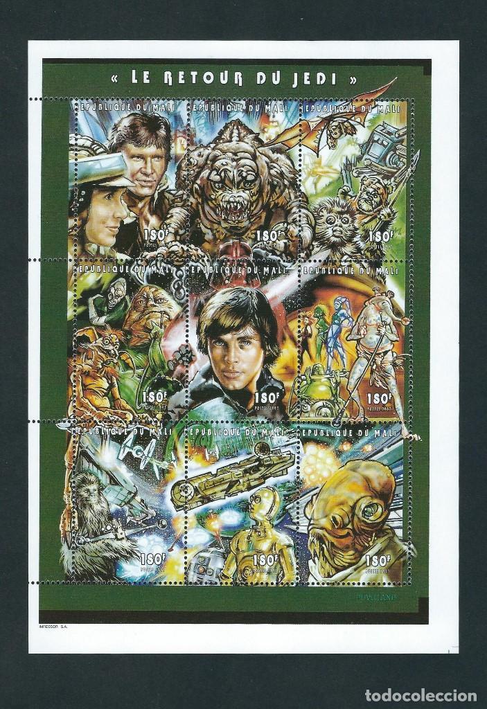 SELLOS MALI 1997 STAR WARS EL RETORNO DEL JEDI (Sellos - Temáticas - Conquista del Espacio)