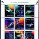 Sellos: SELLOS GRENADA 1999 NAVES DE STAR TREK. Lote 138632242