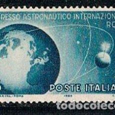 Sellos: ITALIA IVERT Nº 733. CONGRESO INTERNACIONAL DE ASTRONUTICA EN ROMA. NUEVO ***. Lote 141815418
