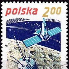 Sellos: 1979 - POLONIA - EXPLORACION ESPACIAL - LUNIK 2 / RANGER 7 - YVERT 2480. Lote 143674834