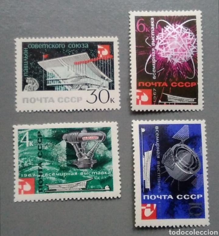 SELLOS RUSIA 3195 AÑO 1967 NUEVO (Sellos - Temáticas - Conquista del Espacio)