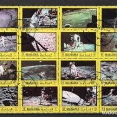 Sellos: MANAMA 1970 ESPACIO EXTERIOR - 2/1. Lote 144603842