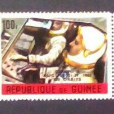 Sellos: CARRERA ESPACIAL 3 SELLOS NUEVOS DE GUINEA. Lote 144839938