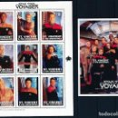 Sellos: SELLOS ST. VINCENT & THE GRENADINES 1997 STAR TREK VOYAGER. Lote 145224614