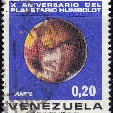 Sellos: 1973 - VENEZUELA - X ANIV. PLANETARIO HUMBOLOT - MARTE - YVERT 862. Lote 150329110
