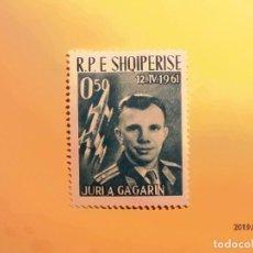 Sellos: SHQIPERISE - EL ESPACIO - JURI A. GAGARIN.. Lote 151017258