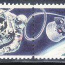 Sellos: TEMA ASTRO.ESTADOS UNIDOS 1967 HOMBRE EN EL ESPACIO MOTIVO ALUSIVO 2V.. Lote 161337870