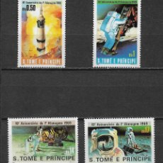 Sellos: ST. THOMAS AND PRINCE ISLANDS 1980 SC 578-581 (4) 15.00 ** - 5/9. Lote 162011238