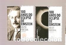 PORTUGAL ** & 100 AÑOS DEL ECLIPSE DE EINSTEIN 2019 (7841) (Sellos - Temáticas - Conquista del Espacio)