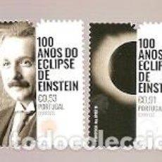 Sellos: PORTUGAL ** & 100 AÑOS DEL ECLIPSE DE EINSTEIN 2019 (7841). Lote 168791384