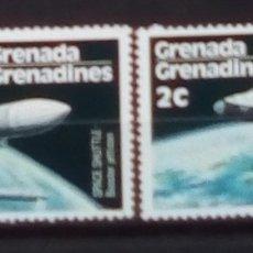Sellos: CARRERA ESPACIAL SERIE DE SELLOS NUEVOS DE GRENADA Y GRENADINAS. Lote 171440897