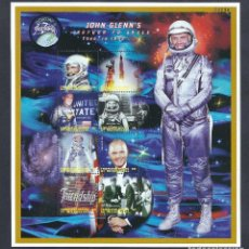Sellos: SELLOS MICRONESIA 1998 JOHN GLENN'S RETURN TO SPACE. Lote 180190587