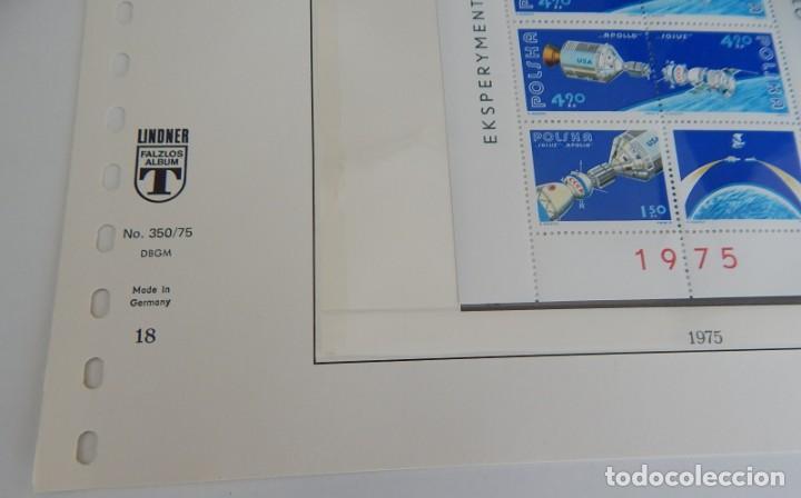 Sellos: Lindner Nº 350/75 (18) - Polonia: Apollo Sojuz, 1975 (América, Rusia). Juegos Olímpicos de Montreal - Foto 2 - 183462476
