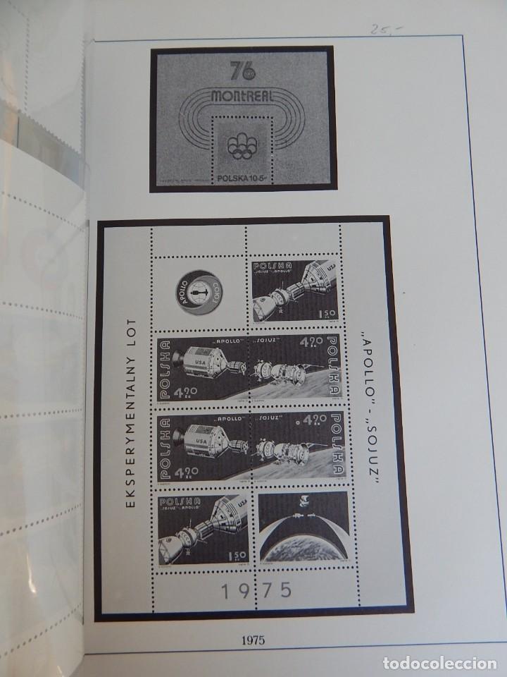 Sellos: Lindner Nº 350/75 (18) - Polonia: Apollo Sojuz, 1975 (América, Rusia). Juegos Olímpicos de Montreal - Foto 3 - 183462476