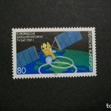 Sellos: /01.04/-ALEMANIA FEDERAL-1986-Y&T 1122 SERIE COMPLETA EN NUEVO SIN FIJASELLOS(**MNH). Lote 198934560