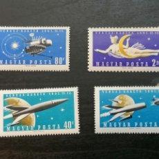 Timbres: ASTRONOMIA HUNGRÍA 1961 SERIE NUEVA *** YVERT 1433/6. Lote 203466117