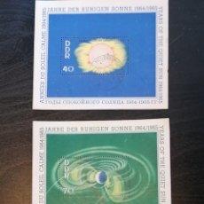 Sellos: ASTRONOMIA SOL CALMADO 1965 ALEMANIA DDR USADO. Lote 203504153