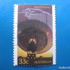 Sellos: +AUSTRALIA 1986, PASO DEL COMETA HALLEY, YVERT 942. Lote 205766965