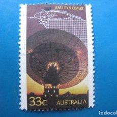 Sellos: +AUSTRALIA 1986, PASO DEL COMETA HALLEY, YVERT 942. Lote 205767062