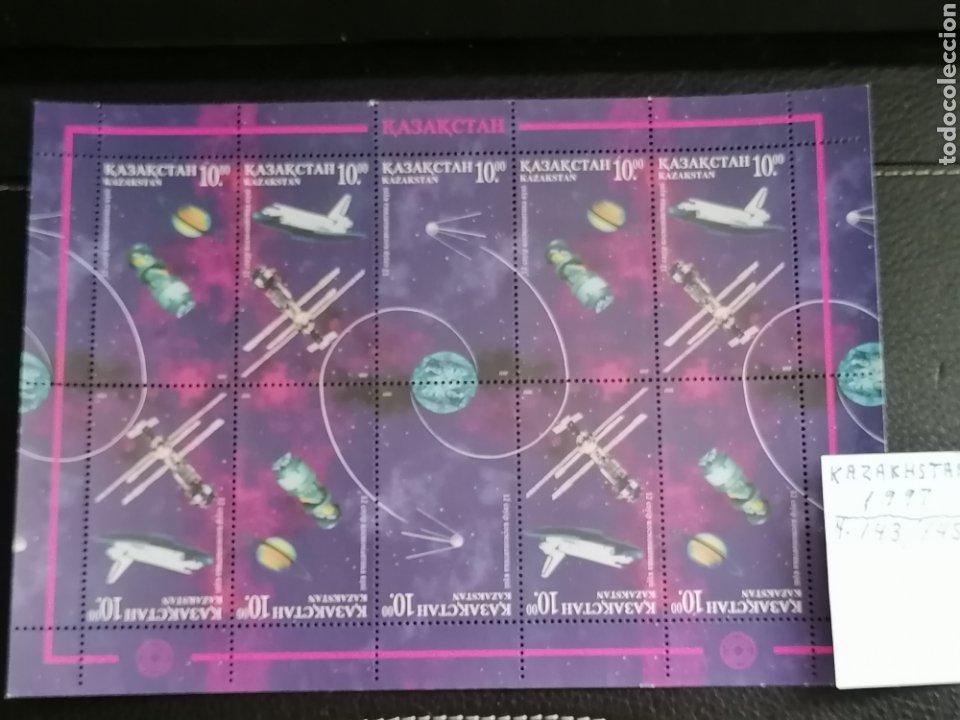 Sellos: Astronomia Colombia Estación Internacional Azerbaiyán año 1997 Yvert 143/5 - Foto 2 - 210226315