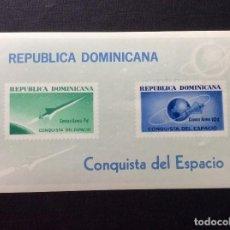 Sellos: REPUBLICA DOMINICANA Nº YVERT HB 30*** AÑO 1964. CONQUISTA DEL ESPACIO. Lote 212037610