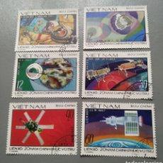 Sellos: 6 SELLOS VIETNAM 132/37 CONQUISTA ESPACIO AÑO 1967 USADOS. Lote 213989640