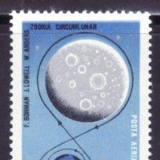 Sellos: SELLOS TEMA ASTRO. RUMANIA 1969 A-218 CIRCUMLUNAR1V. B. Lote 214086315