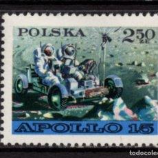 Sellos: POLONIA 1969** - AÑO 1971 - CONQUISTA DEL ESPACIO - APOLO XV. Lote 214113636