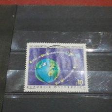 Timbres: SELLOS AUSTRIA (OSTERREICH) MTDOS/1992/100ANIV/ESPACIO/ORBITA/PLANETA/TIERRA/SATELITE/ASTRONAUTAS/. Lote 216436190