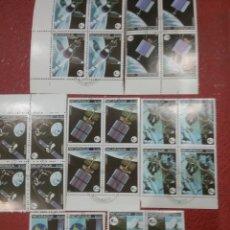 Sellos: SELLOS NICARAGUA MTDOS/1981/COMUNICACIONES/ESPACIO/VIAJES/SATELITE/PLANETA/COSMOS/ANTENAS/PLANETAS/O. Lote 221299632