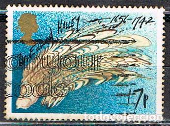 GRAN BRETANA IVERT Nº 1214, EL COMETA HALEY, USADO (Sellos - Temáticas - Conquista del Espacio)