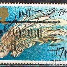 Sellos: GRAN BRETANA IVERT Nº 1214, EL COMETA HALEY, USADO. Lote 221490330