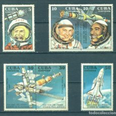 Sellos: 3476 CUBA 1991 MNH THE 30TH ANNIVERSARY OF THE FIRST MAN IN SPACE - WHITE FRAME. Lote 228164590