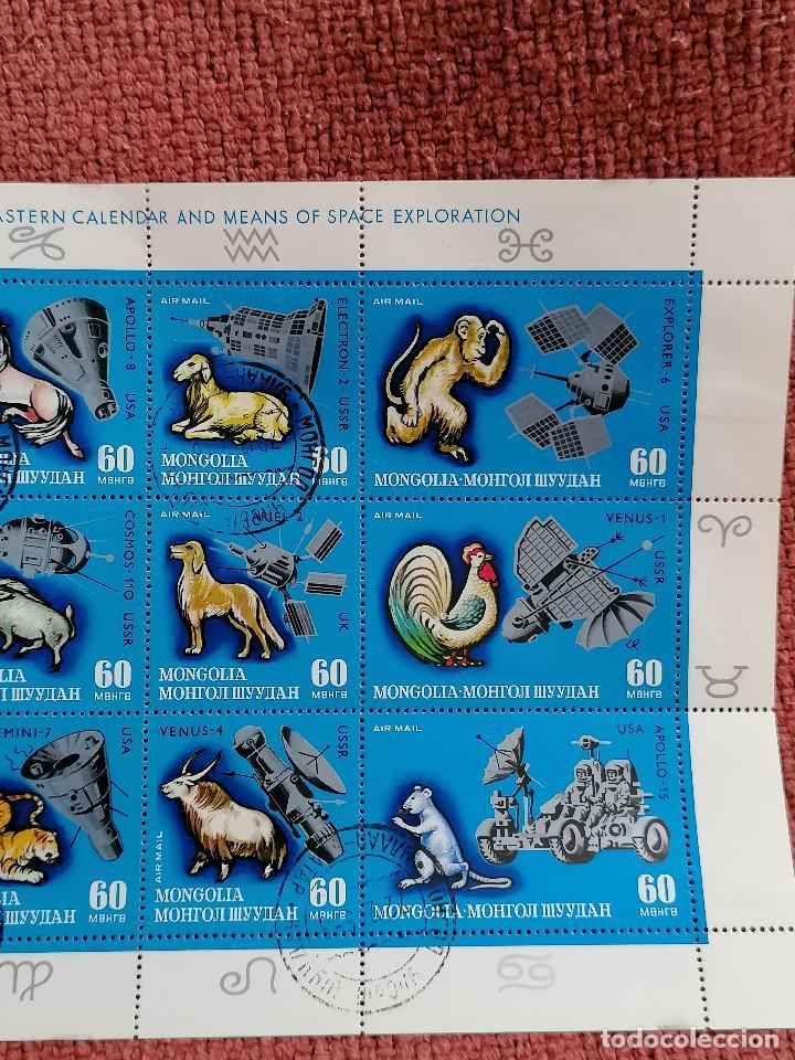 Sellos: Astronomia Mongolia Calendario De Animales y Vehiculos de transporte por el espacio - Foto 3 - 235286765