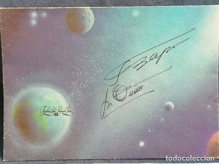 Sellos: Astronomia Rusia año 1981 sobre con firma de Astronauta - Foto 3 - 236342425
