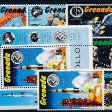Sellos: SELLOS GRENADA 1971 ESPACIO MISIONES APOLO. Lote 236697910
