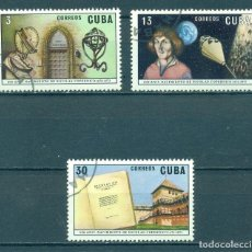 Sellos: CUBA 1973 THE 500TH ANNIVERSARY OF THE BIRTH OF COPERNICUS U - SPACE, ASTRONOMY, SCIENTISTS. Lote 241341225