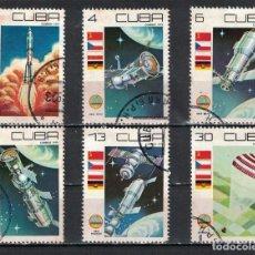Sellos: CUBA 1979 COSMONAUTICS DAY U - SPACESHIPS. Lote 241343315