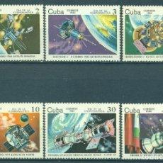 Sellos: 🚩 CUBA 1984 COSMONAUTICS DAY MNH - SPACE, SPACESHIPS. Lote 241344390
