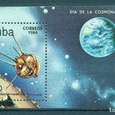 Sellos: 🚩 CUBA 1984 COSMONAUTICS DAY MNH - SPACE, SPACESHIPS. Lote 241344430