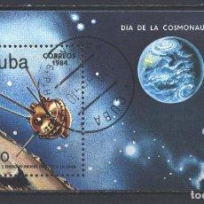 Sellos: CUBA 1984 COSMONAUTICS DAY U - SPACE, SPACESHIPS. Lote 241344445