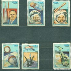Sellos: CUBA 1986 THE 25TH ANNIVERSARY OF THE FIRST MAN IN SPACE MNH - SPACE, SPACESHIPS, YURI GAGARIN. Lote 241344710